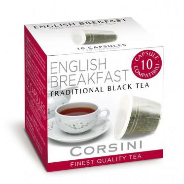 capsule nespresso compatible corsini th english breakfast. Black Bedroom Furniture Sets. Home Design Ideas