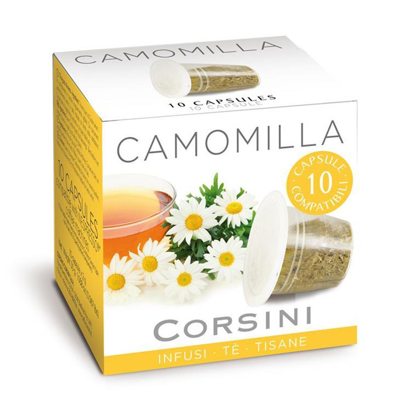Capsule Nespresso Compatible Corsini Thé English Breakfast - 10 ...