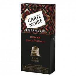 Capsule Nespresso Compatible Carte Noire Hauts Plateaux Kenyans - 10 Capsules