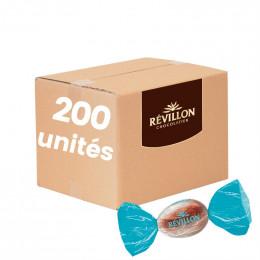 Petits Oeufs au Chocolat au lait Praliné Pur Amande Révillon - Carton 1,4 kg - 200 pièces