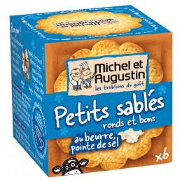 Petits Sablés Ronds et Bons au Beurre, Pointe de Sel 40 gr