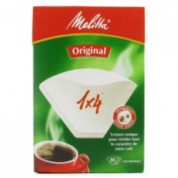Melitta Original 1x4 + un sachet de détartrant pour cafetière