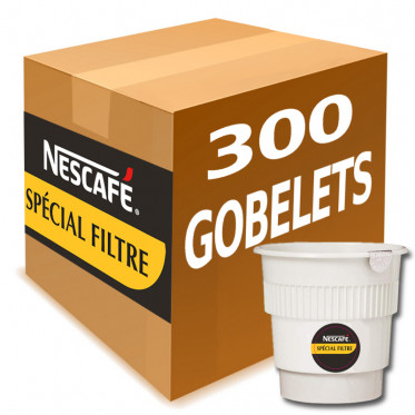 Gobelet Pré-dosé Café Nescafé Special Filtre - Carton 300 boissons