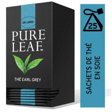 Thé Noir Pure Leaf Earl Grey - 25 pyramides