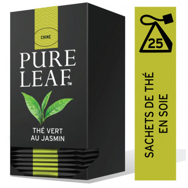Thé Vert au Jasmin Pure Leaf - 25 pyramides