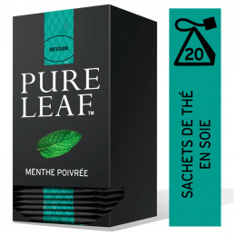 Infusion Menthe Poivree Pure Leaf - 20 pyramides