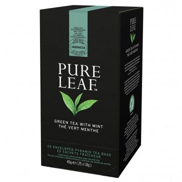 Thé Vert à la Menthe Pure Leaf - 25 pyramides