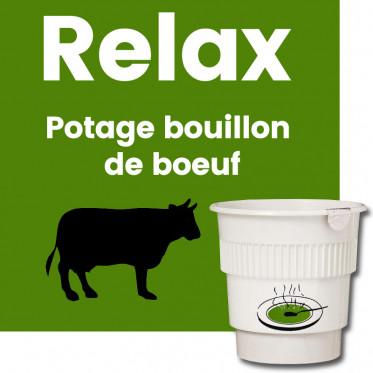 Gobelet Pré-dosé Potage Bouillon de Boeuf - 20 boissons