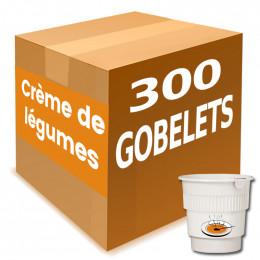 Gobelet Pré-dosé Crème de Légumes - Carton 300 boissons