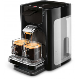 Machine à Dosettes Souples Senseo Quadrante : Philips HD7866 Noir