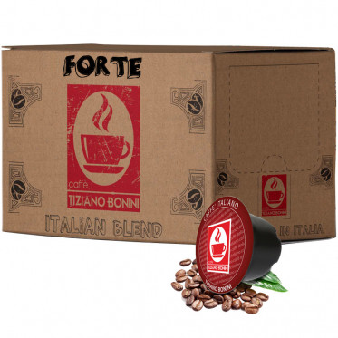 Capsule Lavazza Blue Compatible Café Forte - 100 capsules - Caffè Bonini