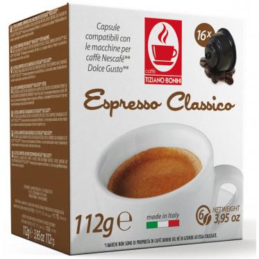 Capsule Dolce Gusto Compatible Café Espresso Classico - 10 capsules - Caffè Bonini