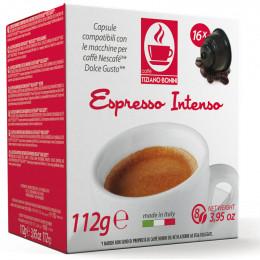 Capsule Dolce Gusto Compatible Café Espresso Intenso - 10 capsules - Caffè Bonini