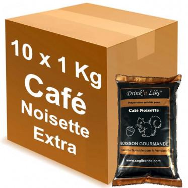 Cafe gourmand pour distributeur automatique Drink'n Like Café Noisette Extra