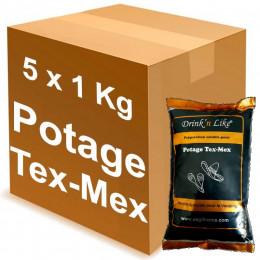 Potage pour Distributeur Automatique Drink'n Like Soupe Tex Mex 5 Kg