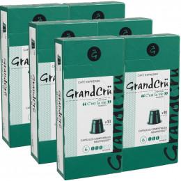 Capsules Nespresso Compatibles Grand Cru C'est la Vie - 6 paquets - 60 capsules