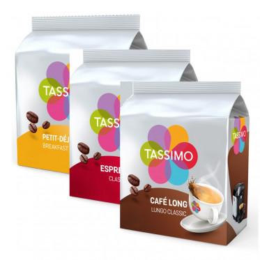 PACK Découverte et dégustation : Capsule Tassimo - 48 capsules
