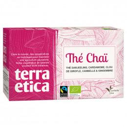 Thé Chaï - Origine Inde - Terra Ética - 20 sachets