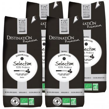 Café en Grains Bio Selection - Destination Grand Comptoir - 4 kg