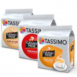 """Capsule Tassimo Grand'Mère Espresso """"Format Familial"""" 5 paquets - 120 T-Discs"""