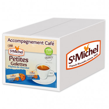Biscuits pour Café en Gros Petites Galettes Saint Michel Pépite Chocolat par 400