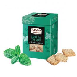 Biscuits Atelier St Michel - Sablé thé vert menthe Nanah - 130 gr