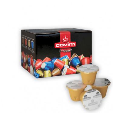 Capsules Nespresso Compatibles Covim Presso Gold Arabica - 50 capsules