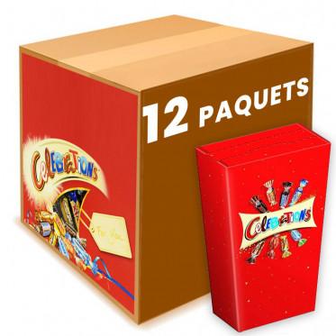 Ballotin de chocolats Célébrations - 12 ballotins de 69g