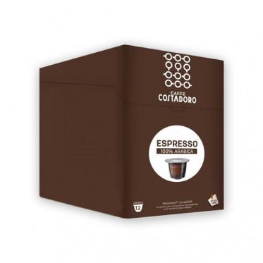 Capsule Nespresso Compatible Costadoro Espresso Pur Arabica 4 boites