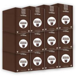 Capsule Nespresso Compatible Café Costadoro Espresso Pur Arabica 12 boites - 144 capsules