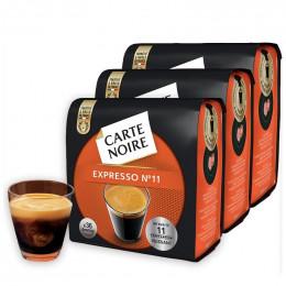 Dosette Souple Carte Noire n°11 Expresso puissant 3 paquets - 108 pads