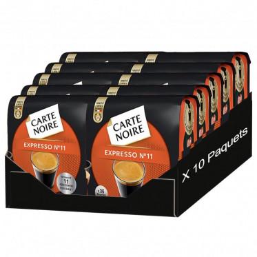 Dosette Souple Carte Noire n°11 Expresso puissant 10 paquets - 360 pads