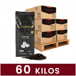 Café en Grains Campanini Cremoso - 60 Kg