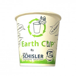 Gobelet 100 % compostable 10cl Earth Cup - par 100
