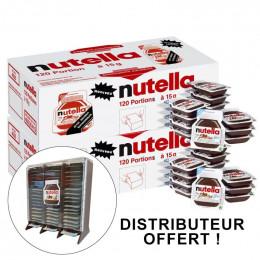 Barquette Nutella individuelle 15g Mini portion - Carton de 120 barquettes