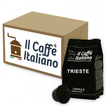 Capsule Dolce Gusto Compatible Il Caffe Italiano - Trieste - 96 Capsules