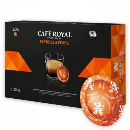 Capsule Nespresso PRO Compatible Café Royal Office Pads - Espresso Forte - 50 capsules